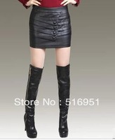 Free shipping The new package hip bust skin short skirts