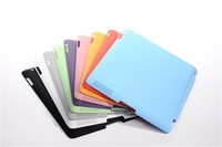 30Pair/LOT PU Leather Magnetic Front Smart Cover Skin + Rubberized/dark frosted Hard Back Case Shell For iPad MINI/2/3/4 AIR 5