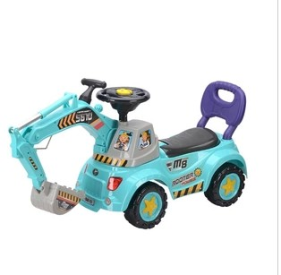 Hengtai new arrival 5610 multifunctional walker baby toy engineering car mining machine(China (Mainland))