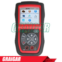 2013 New Arrival Auto MultiMeter AVOMeter Scanner Color Screen OBDII Diagnostic Engine Code Scanner Autel Autolink AL439