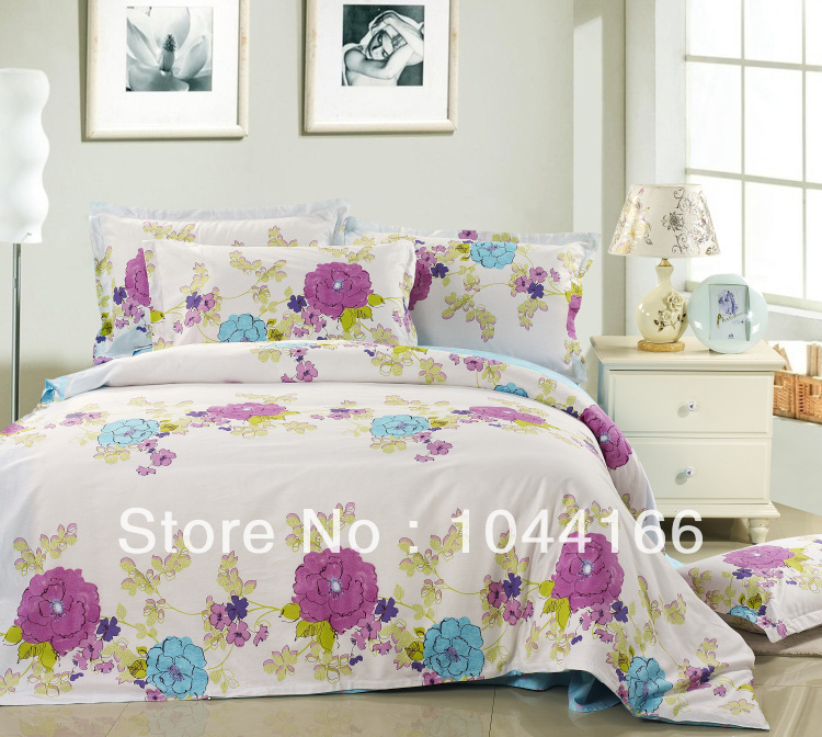 Special offer free shipping cotton denim love spell hit color cotton quilt bedding linens paragraph(China (Mainland))