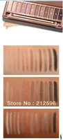 Free shipping  new makeup new 12 colors NK3   eyeshadow  palette ( 10 pcs )