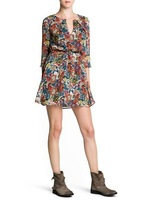 flower printed casual dress fashion women zara2014 vestidos de fiesta roupas femininas blusas praia moleton dudalina gaga deals