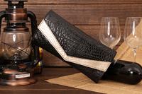Free shipping new 2013 Fashion women hand bag day clutch bags serpentine pattern women's genuine leather handbag evening bag