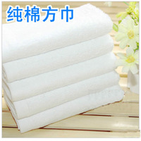 free  shipping Beauty care 100% white cotton scarf 30 logo