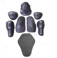 8PCs Motorcycle jacket soft armor protector kit jgk high quality