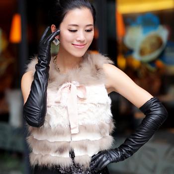 Модный and Elegant Ladies Черный Кожа PU является высокотехнологичным и высокосортным ...