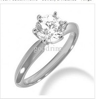 2.70 CT G VVS2 ROUNDENGAGEMENT RING