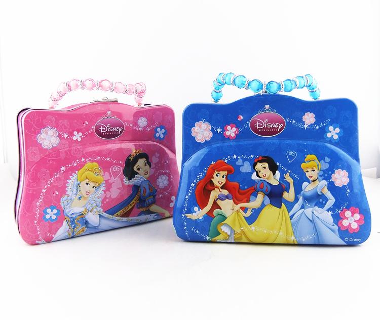New arrival HELLO KITTY piggy bank portable women's bags iron piggy bank birthday gift(China (Mainland))