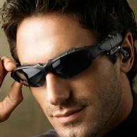 Updated Sports Sunglasses Wireless Bluetooth Headset  Foldable Hi-Fi Headphone for iPhone Cellphone  F-E009