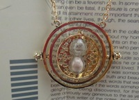 New 2013 Fashion bijoux jewelry,24K Gold Plated Harry Potter Necklace Time Turner Necklace Hermione Granger factory wholesale