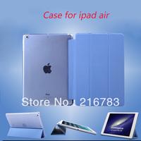 10Pcs/Lot High Quality Original QINDA  Ultrathin Tablet Series Flip Leather Case For ipad Air ipad 5 DHL Free Shipping