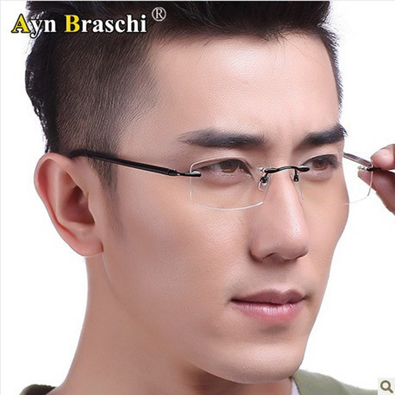 Frameless Glasses Trend : Popular Frameless Eyeglasses Aliexpress