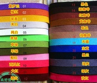 30pcs 10mm OMH wholesale DIY synthetic leather rope chamois leather rope flat leather cords rope mix color