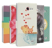 New Style Flip Leather Case For THL W11 Android Quad Core Phone w11 leather case in stock