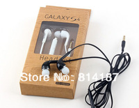 10pcs/lot New Blue 3.5mm Stereo In ear earphone earbud headphones handsfree headset for HTC iPad iPhone Samsung s4