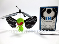 wholesale 48pcs/lot Remote Control Alien Flyer Toy +EMS/Fedex free shipping
