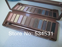 New 2013 arrived 12 COLOR NAKE 3 Professional EYE SHADOW POWDER EYESHADOW NK3 palette makeup set 2pcs free shipping