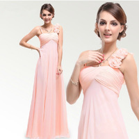 Bridesmaid Dress Long Design Banquet Party Evening Dresses Unique Fashion Free Shipping