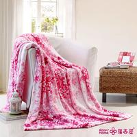 Casual travel blanket knitted flange fleece blanket bed sheets knee blanket sierran blanket child blanket