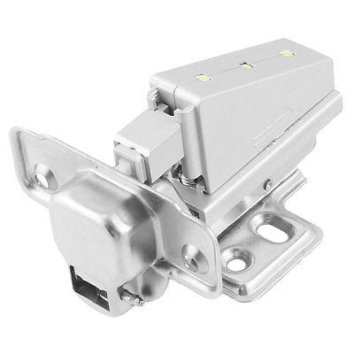 Full Overlay Slide White Light Hinges Install Parts for Cabinet Qwkgn(China (Mainland))
