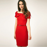 women dress one piece skirt European and American women's dress Wholesale Wholesale Korean dress skirt 8089