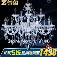 [ Lynx ] respect the Court for pre-sale luxury penthouse floor living room lighting a candle crystal chandelier Z036 Continental