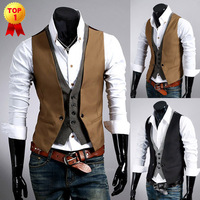 Free shipping hot sale High quality fashion boutique ves,t Slim vest men's casual vest