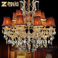 [ Court ] luxury European-style statue lamp crystal chandelier crystal lighting Z006 villa living room proud GSE