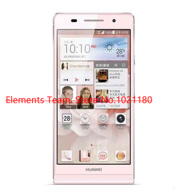 Original Phone Huawei Ascend P6 C00 New incell screen 6.18mm mobile phone quad core 1.5GHz 2GB Ram Russian multiple languages(China (Mainland))