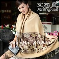Free shipping promotional wholesale cotton Bohemia 2013 autumn/ winters warm scarf national shawl/Pashmina/Stole