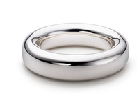Classic Titanium Wedding Band Ring 4mm wide Sizes 4 -13 Free Shipping G&S103