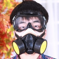 2013 Two cans of soft silicone mask respirator protection gas mask Free shipping