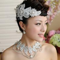 The bride accessories piece set rhinestone wedding dress the wedding hair accessory wedding jewelry corsage