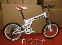 20 folding hummer mountain bike 21 double mountain bike disc brakes