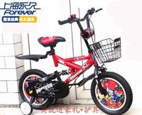 2014 special offer sale 12 inch 14 inch 16 inch orange shanghai permanent x6 shock absorption kids bike 121416 male girl folding