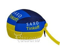 2013 SAXO tink off Headband bike Cycling Team hat Cap cycle pirates hood Bike bicycle sweat