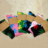 New Plantlife Marijuana Weed Leaf Cotton High Socks 25 Colors Men /Women