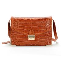 Lobaque 2013 women's handbag fashion lockbutton crocodile pattern messenger bag