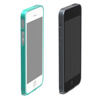 8pcs DHL free delivery, 0.7mm Ultra-thin Aviation Aluminium Bumper for iPhone 5 5s, the metal case for iphone5 5s