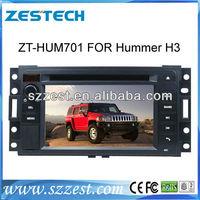 ZESTECH Hummer H3 Car DVD Player GPS Navigation Touch Screen Bluetooth TV USB SD iPod RDS AUX support steering wheel