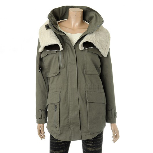 Autumn and winter codes combine hatchards removable liner loose trench cotton-padded jacket wadded jacket(China (Mainland))