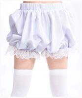 Cos pumpkin pants legging white lolita bloomers safety pants