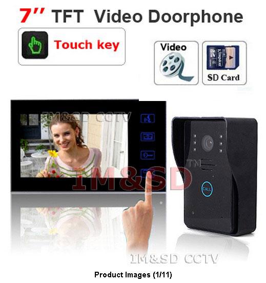 Видеодомофон HK-VISION 7/tft LCD 4 SD IMSD-SY806MJ11REC