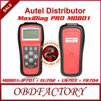 New 2014 Autel MaxiDiag PRO MD801 4 in 1 code scanner = JP701+EU702+US703+FR704  Tools Electric obd2 Auto Diagnostic Tool