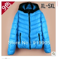 Plus size down cotton-padded jacket winter Women thickening wadded jacket female short design plus size cotton-padded jacket mm