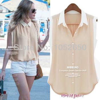 Camisa Chiffon Blouses for Women 2013 Summer Camisas Mujer Roupas Blusas Free Shipping Women Shirts Blouses Blusas Femininas
