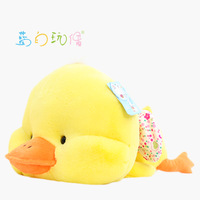 cute laying  duck  about 30cm doll duck plush toy doll t7774