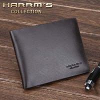 free shiping 2013 short horizontal wallet men's wallet purse male wallet