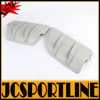 Golf VI MK6 R20 FRP rear bumper decoration cover car rear diffuser trim board (fits for Golf6 MK6 R20 bumper)